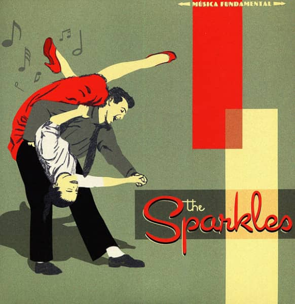 The Sparkles 7inch, 45rpm, SC EP