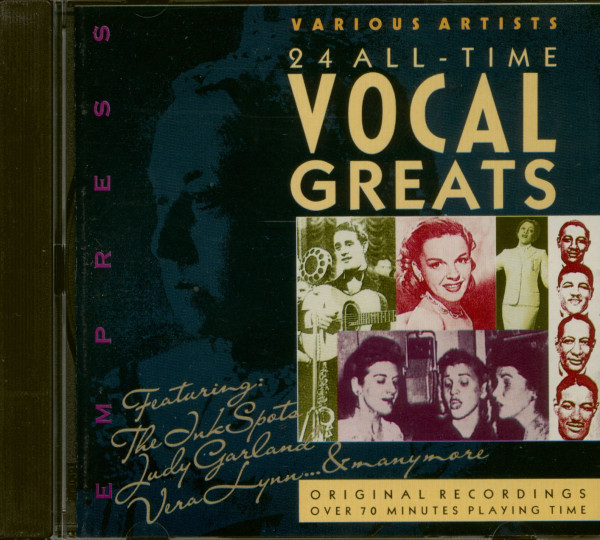 24 All-Time Vocal Greats (CD)