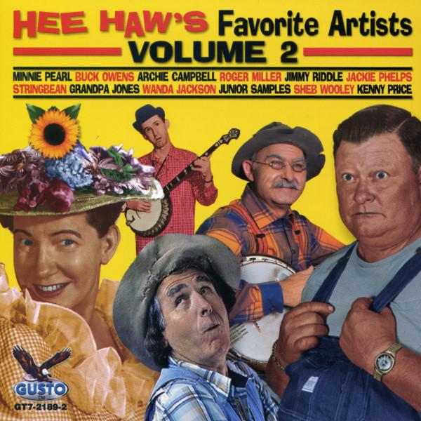 Vol.2, Hee Haw's Favorite Artists