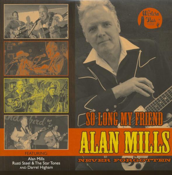 So Long My Friend - Alan Mills - Never Forgotten (LP, 10inch)