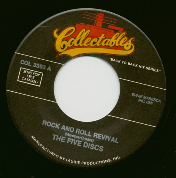 Rock And Roll Revival - Please Write (7inch, 45rpm, BC)