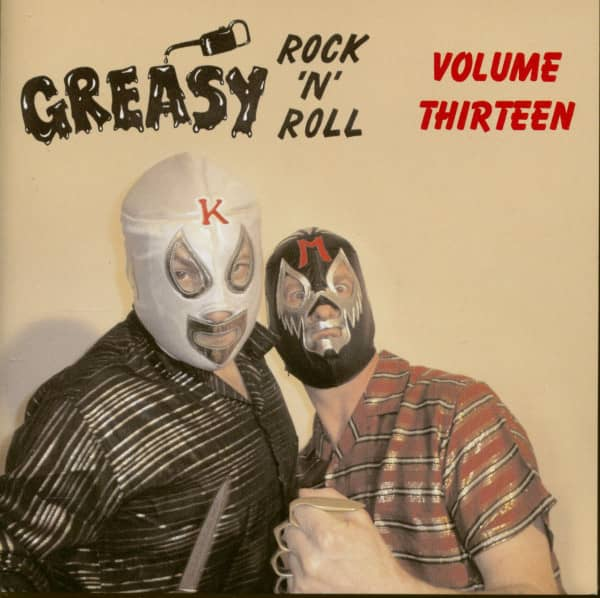 Greasy Rock'n'Roll Vol.13 (CD)