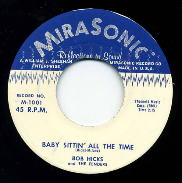 Rock Baby Rock - Baby Sittin' All The Time (7inch, 45rpm)