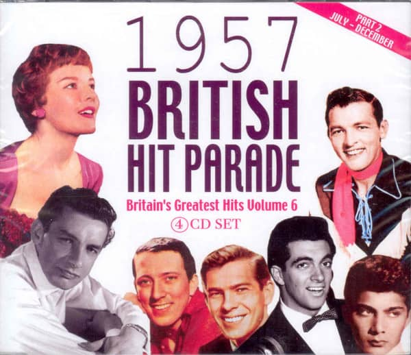Vol.2, 1957 British Hit Parade (4-CD)