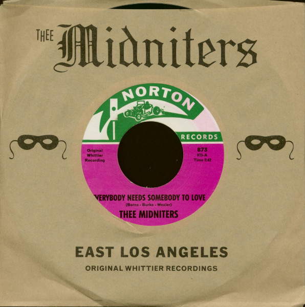 Everybody Needs Somebody To Love - Never Knew I Had It So Bad (7inch, 45rpm, CS)
