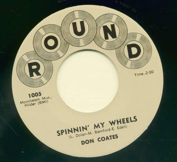 Spinnin' My Wheels - Jiggedy Wiggedy Wolly (7inch, 45rpm)