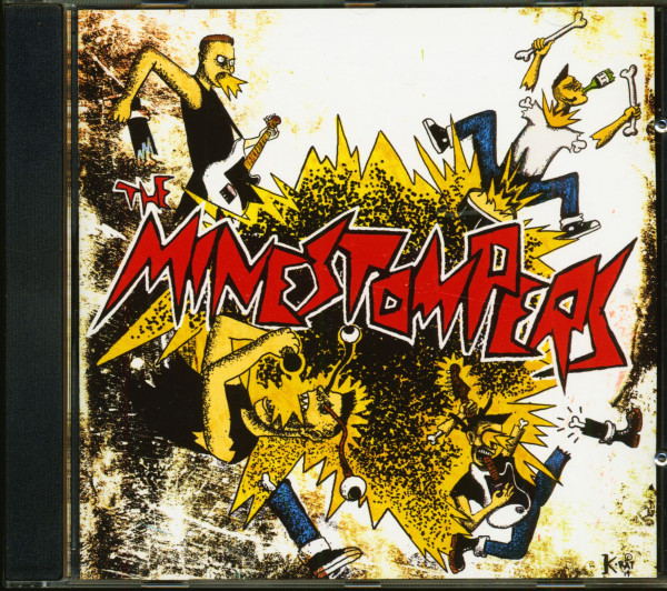 The Minestompers (CD)