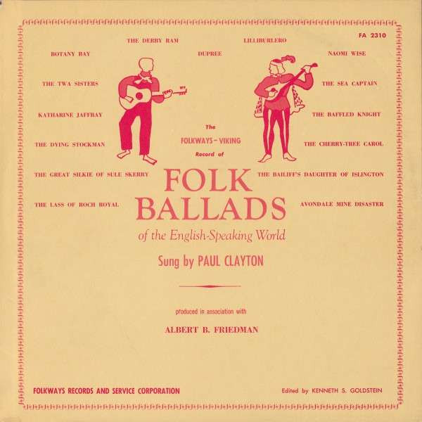 Folksongs Of The English-Speaking World