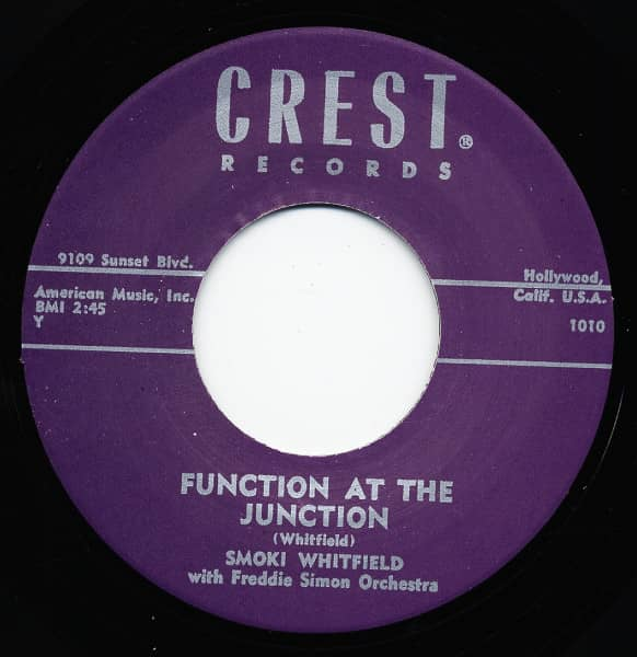 Function At The Junction - Take The Hint 7inch, 45rpm