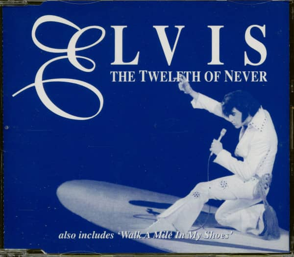 The Twelfth Of Never (CD Single, Promo)