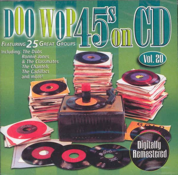 Vol.20, Doo Wop 45s On CD