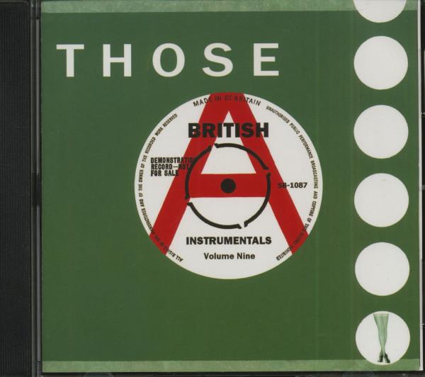 Those British Instrumentals Vol.9 (CD)