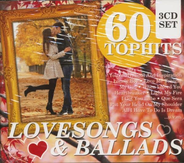 60 Top Hits - Lovesongs & Ballads (3-CD)