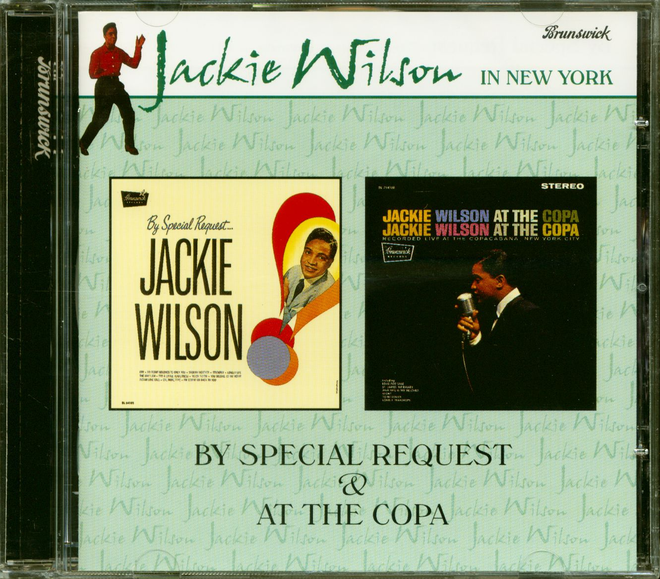 Jackie Wilson CD: By Special Request - At The Copa (CD) - Bear Family Records