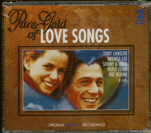 Pure Gold Of Love Songs (2-CD)