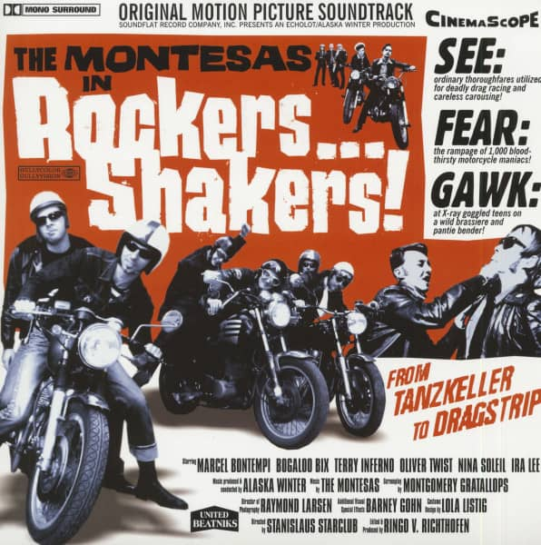 Rockers...Shakers! - Original Motion Picture Soundtrack (LP, Ltd.)