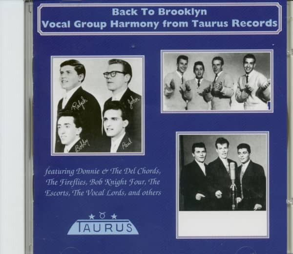 Vocal Group Harmony From Taurus Records