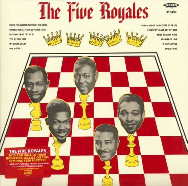 The Five Royales - 180g