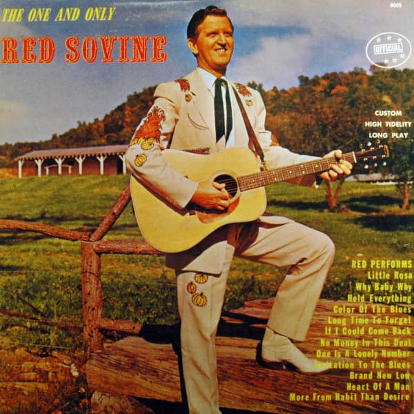 The One And Only Red Sovine (LP)