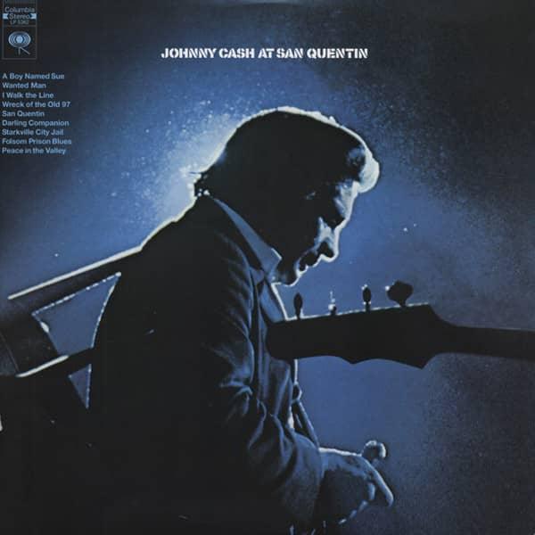Johnny Cash At San Quentin (1969) HQ Vinyl