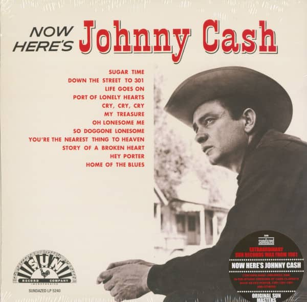 Now Here's Johnny Cash (LP)