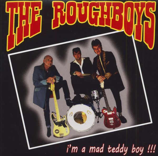 I'm A Mad Teddy Boy (7inch, 45rpm, Colored Vinyl, EP, PS)