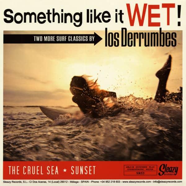 The Cruel Sea - Sunset 7inch, 45rpm, PS