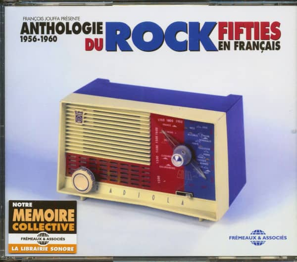 Anthologie Du Rock Fifties En Français - 1956-1960 (3-CD)