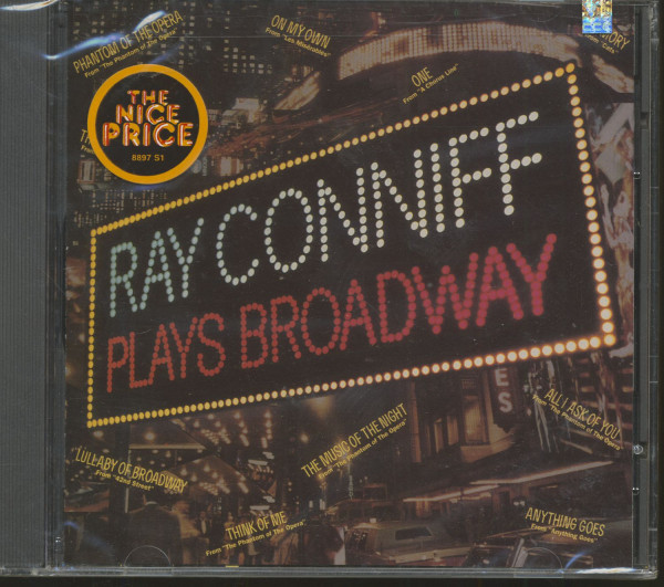 Ray Conniff Plays Broadway (CD)