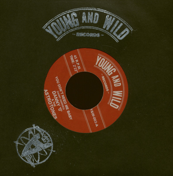 You Don't Need Me Baby - Volcano (7inch, 45rpm)
