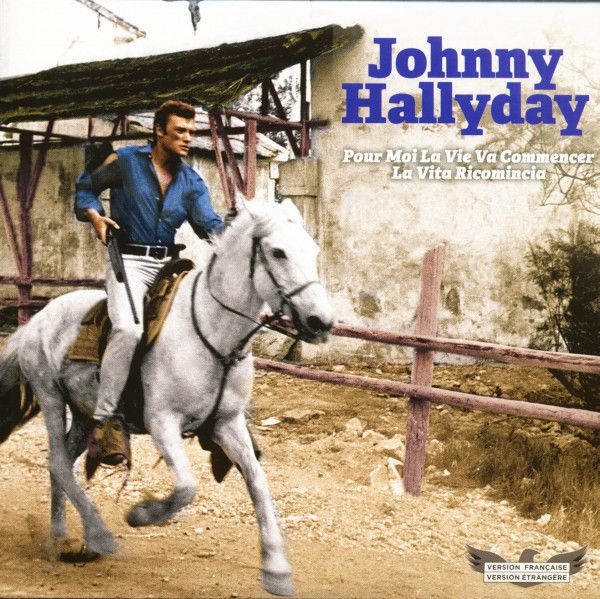 Johnny Hallyday (7inch, 45rpm, PS, SC, Ltd. Picture Disc)