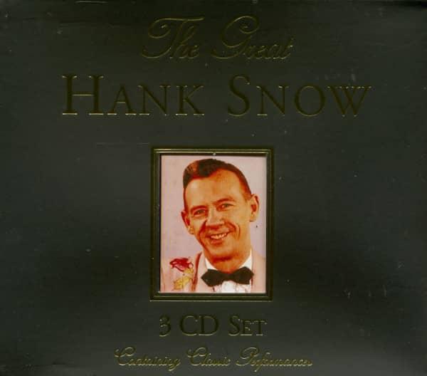 The Great Hank Snow (3-CD)