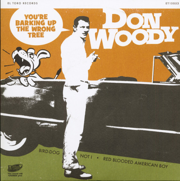 You're Barking Up The Wrong Tree (7inch, EP, 45rpm, PS)