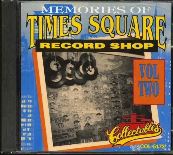 Memories Of Times Square Record Shop Vol.2 (CD)