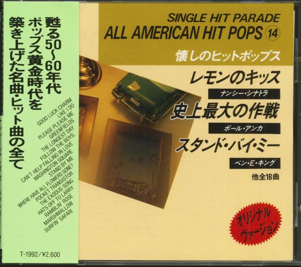 Single Hit Parade - All American Hit Pops 14 (CD, Japan)