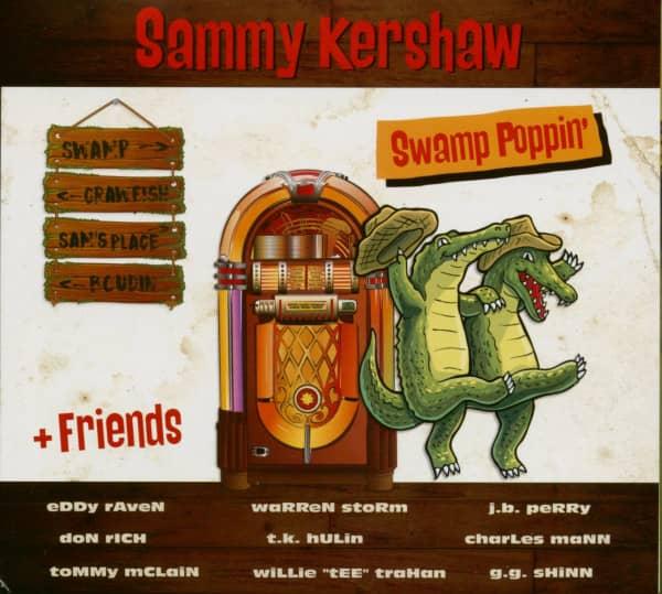Swamp Poppin' (CD)