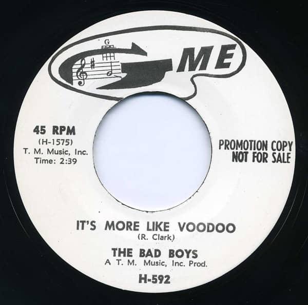 It's More Like Voodoo - Bucket O'Blood 7inch, 45rpm