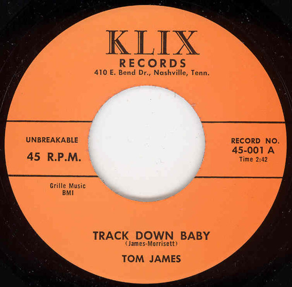 Track Down Baby - Hey Baby (7inch, 45rpm)