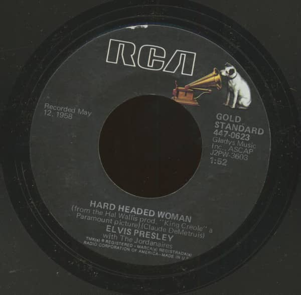 Hard Headed Woman - Don't Ask Me Why (7inch, 45rpm)
