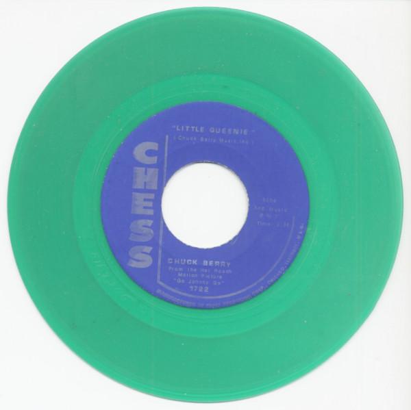 Little Queenie - Almost Grown (7inch, 45rpm, Green Vinyl)