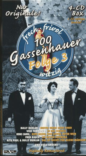 100 Gassenhauer, Folge 3 (4-CD Digi-Longbox)