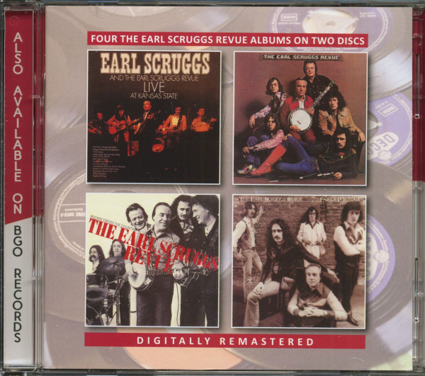 Live At Kansas State - The Earl Scruggs Revue - Rockin' Cross The Country - Family (2-CD)