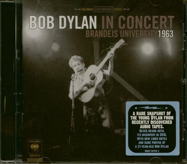 Bob Dylan In Concert - Brandeis University 1963 (CD)