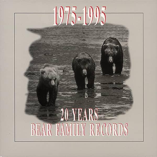 20 Years Bear Family (4-CD & Book)