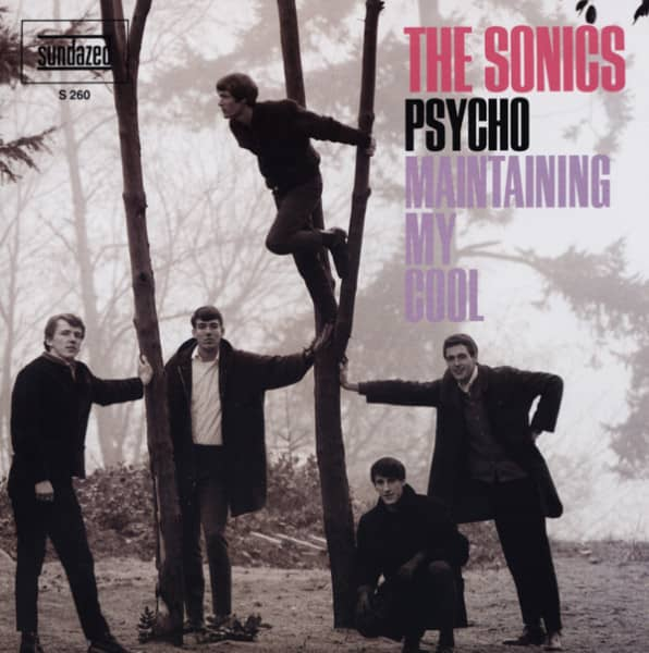 Psycho - Maintaining My Cool 7inch, 45rpm, PS, colored wax
