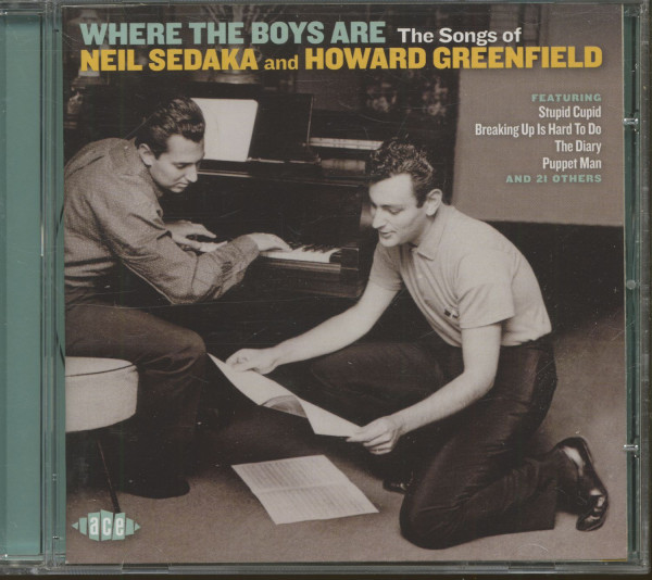 Where The Boys Are - The Songs Of Sedaka And Howard Greenfield