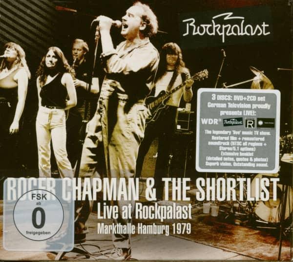 Live At Rockpalast - Markhalle Hamburg 1979 (2-CD & DVD)