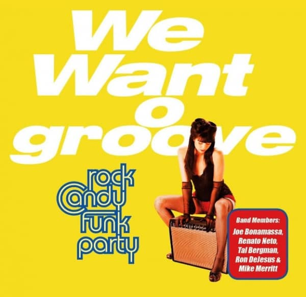We Want Groove (2-LP)