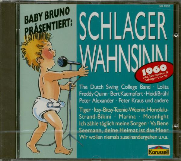 Schlagerwahnsinn 1960 (CD)