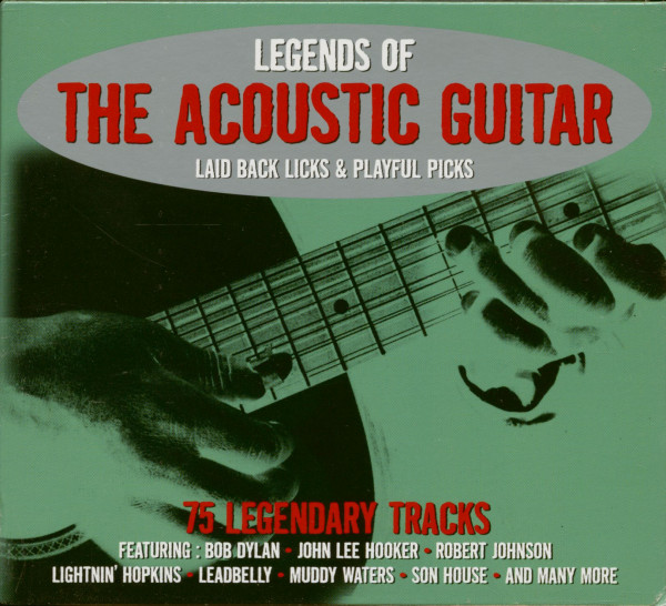 Legends Of The Acoustic Guitar (3-CD)